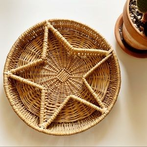 Beautiful Woven Star Basket